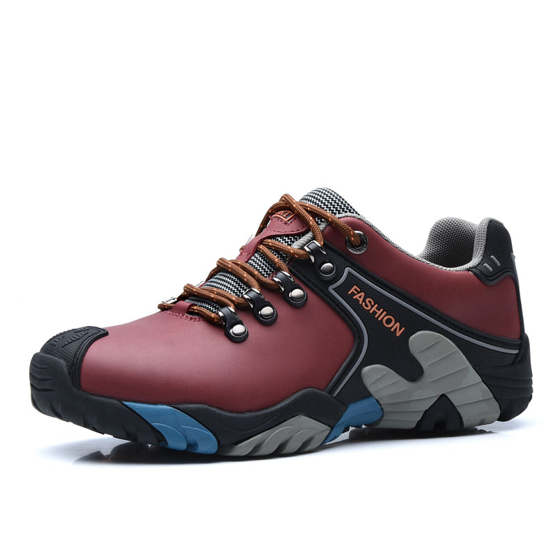 New arrival autumn hiking shoes authentic outdoor waterproof men&amp;women shoes quality antiskid trekking shoes<br><br>Aliexpress
