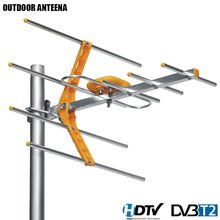 HD Digital TV Antenna For HDTV DVBT/DVBT2 470MHz-860MHz Outdoor TV Antenna Digital Amplified HDTV Antenna(China)