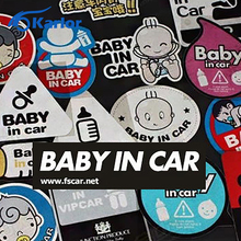 Baby on Board Ho Baby in Car Reflective Window Ho Car Auto Decal Motorcycle Sticker for VW Hyundai Mercedes Toyota Car Styling