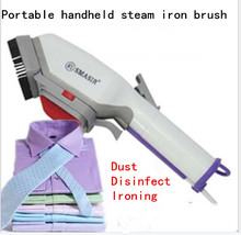 2016 household electric iron mini portable clothes steam ironing brush hand hanging ironing machine dust removing