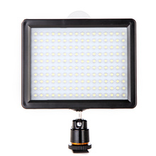 ES Stock Andoer 160 LED Video Light Lamp 1280LM 5600K/3200K Dimmable Photographic Lighting for Canon Nikon Pentax DSLR Camera(China)