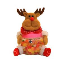 Christmas Candy Canes Santa Snowman ELK Doll Candy Bags Xmas Decoration Supplies Christmas Festival decor suger Kids gift(China)