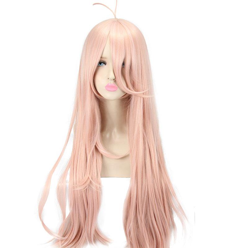 Danganronpa V3 Killing Harmony Iruma Miu Anime Cosplay milk Pink Hair wig
