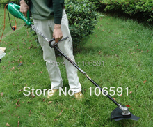 230v/1000w hand push cleaner electric wheel brush grass cutter trimmer handle mower