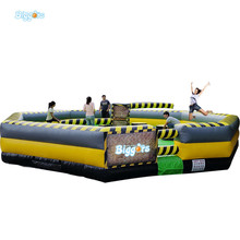 Sea Shipping 8 People Version Sweeper Gonflable Inflatable Meltdown Wipeout Course Eliminator For Sale(China)