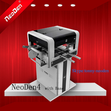 SMT Machine/Smt Pick and Place Machine/PCB Surface Mounting Machine/PNP Machines NeoDen4 With rails+Base