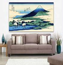 Thirty-six Views of Mount Fuji Famous Japanese Painting Ukiyo-e Master Works Reproduction HD Canvas Print Wall Art Home Decor