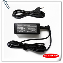 "30w AC Adapter Power Supply Cord For HP Compaq Mini 10.1"" 100 110 110c 110XP 210 19v 1.58A 493092-002 Laptop Battery Charger"