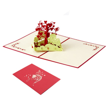 3D Pop UP Card Wedding Invitations Card Wishing Trees Greeting&Gift Birthday Card Postcard
