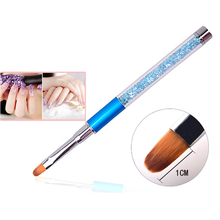 Professional Multi-Function Crystal Pen Brush Painting Nail Art Acrylic UV Gel Design Brush Painting Drawing Pen Tips Tools