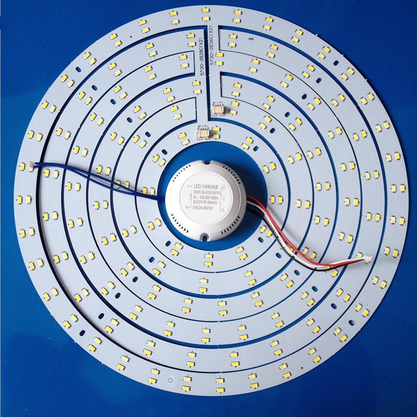 Ring 5730 smd lamp led ceiling light lamp plate light source plate refires led lamp plate energy saving lamp bright<br>