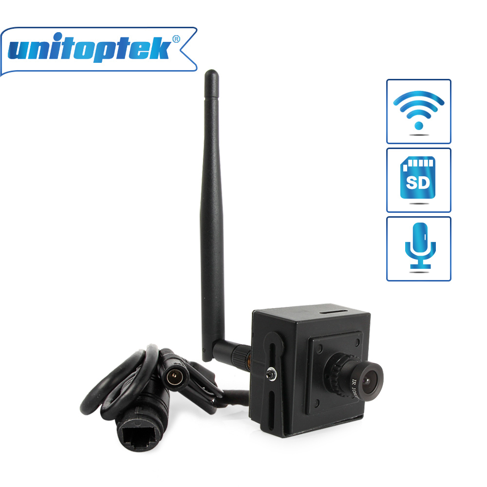 Mini Security HD 1080P 960P 720P Wireless IP Camera Wifi CCTV Network Microphone SD Card Support Android iPhone P2P CamHi View <br>