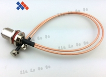 RF N female to Y type 2X TS9 male Right Angle Splitter Combiner cable pigtail RG316 One N-KY point 2 TS9/S197 connector