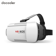 Hot Google Cardboard VR helmet Version VR Virtual Reality 3D VR Glasses Movies Games VR Headset For 4.7~6.0 Smartphones(China)
