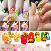 Siwan essential sliced fruit cane patch mobile phone shell Manicure Decal Decals beautify accessories special offer