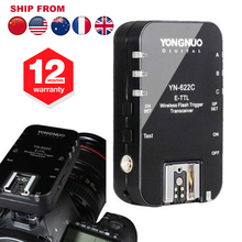 1PC Yongnuo YN-622C YN622C Wireless E-TTL HSS 1/8000S Flash Trigger Transceivers for Canon 1100D 1000D 650D 600D