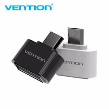 VENTION Mini Micro USB To USB OTG Adapter 2.0 Converter For Android Samsung Galaxy S3 S4 S5 Tablet Pc to Flash Mouse Keyboard