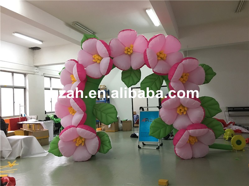inflatable flower arch (125)