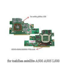 V000190390 for toshiba satellite A500 A505 L500 VGA card laptop graphics boardnvidia N10P-GE-A2 GT230M 1GB