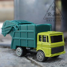 mst 1:64 Alloy car model Engineering car series New garbage truck Transporter car Children like the gift Decoration 11613(China)