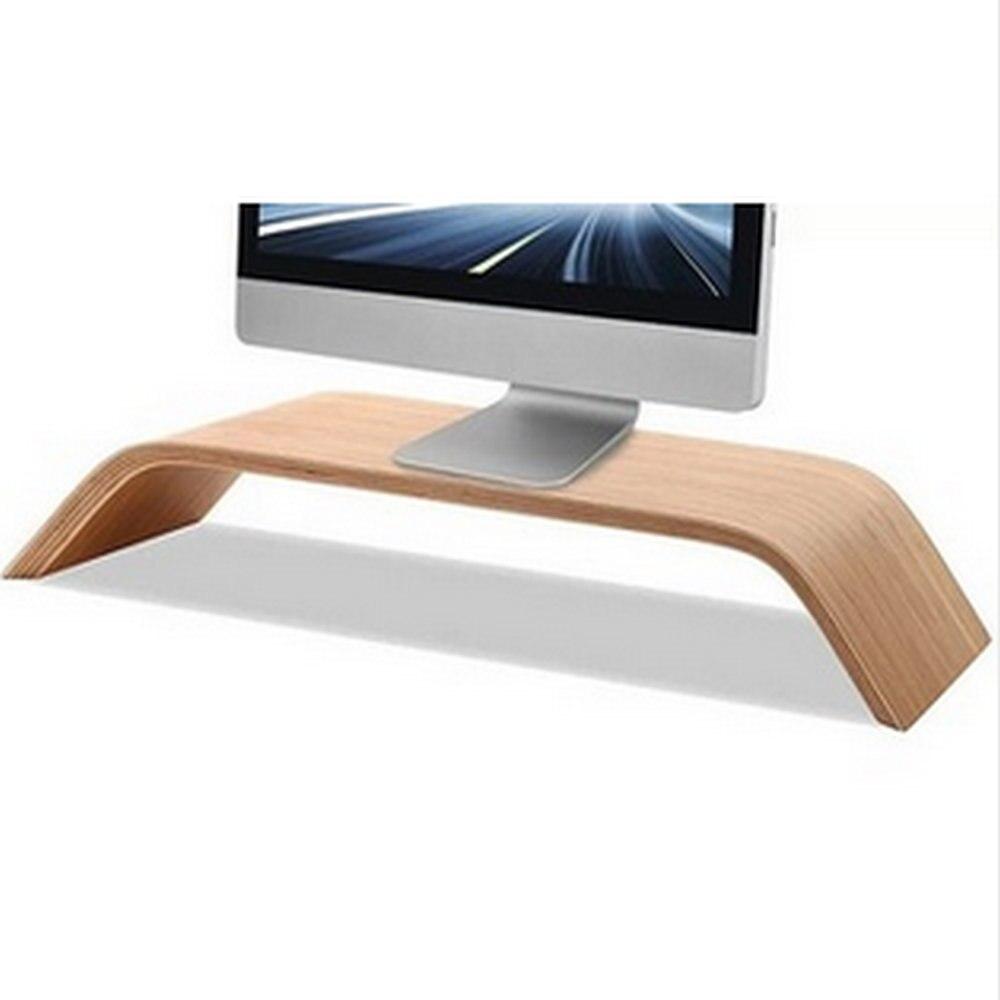 DHL Wooden Desktop Monitor Stand Mobile Holder Original Samdi For iMac Mac Mini PC Computer Heighten Wood Bamboo Office<br><br>Aliexpress
