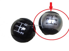 1 PC Silver colour Gear Shift Knob good quality for Ford Focus 2 II 2005-2008 1.8L
