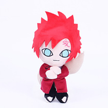 Anime Figurine Naruto Peluche Doll 25cm Japan Manga Figure Short Plush Stuffed Figuras Toys for Kids(China)