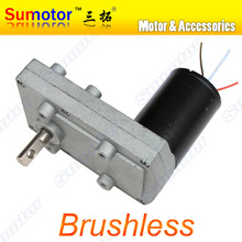 100FB DC 12V 24V Low speed High torque Plate Gear Box Metal Gear Reducer Brushless Motor reversible Electric curtain PTZ Camera(China)