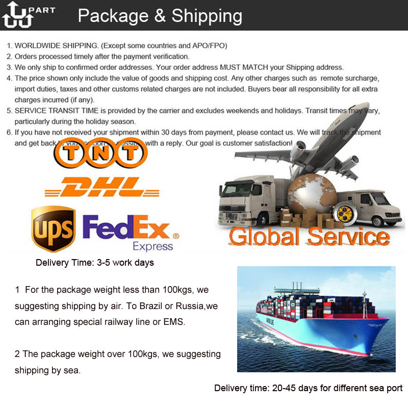 shipping and package