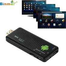Binmer Factory Price MK809IV Android 4.4 TV Dongle Box Quad Core Mini PC 1080P 3D Media Player Kodi 60506 Drop Shipping