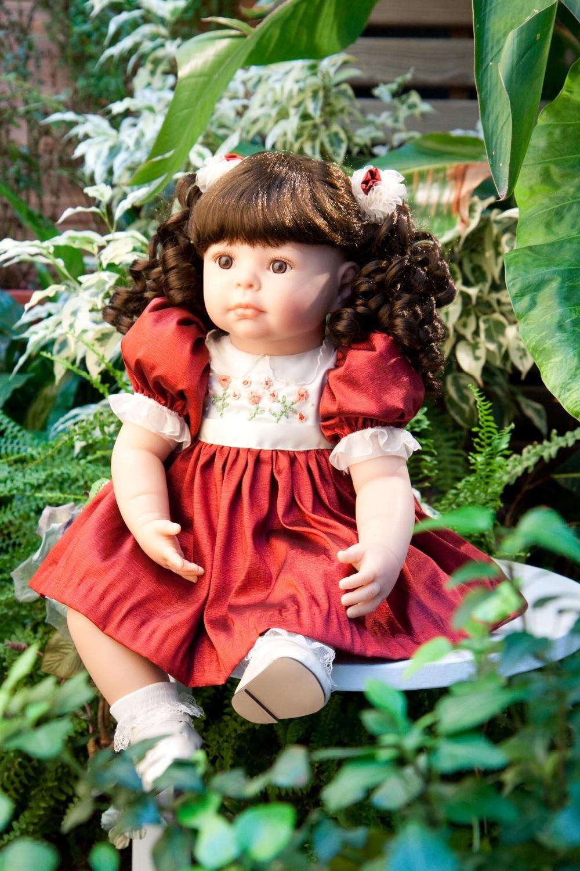 New 52cm Silicone Vinyl Reborn Baby Doll Lifelike Newborn Baby Doll Girls Brinquedos Best Birthday Gift Play Doll Toys<br><br>Aliexpress