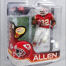 Animation Garage Kid Collection Kids Toys: JJIN Action Figure PVC Dolls NFL Football Player Marcus Allen Model Best Gifts