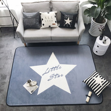 150X195CM Japanese/Korean Carpets For Living Room Little Star Carpet Kids Room Fashion Soft Rugs For Bedroom Coffee Table Mat