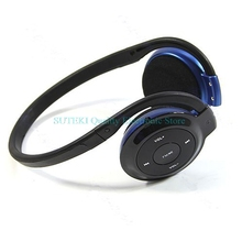 Wireless MP3 Player Headphone Headset Earphone FM Radio Support TF Card##High Quality##Q1FC##
