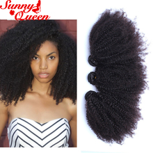 Mongolian Afro Kinky Curly Hair 8A Kinky Curly Virgin Hair Human Hair Weave Bundles Black Friday Deals Rosa Queen Hair Products