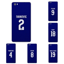 For Huawei Honor 5C 7 7I Phone Case P8 P9 Lite Plus G9 Cover Mate 7 8 Transparent Shell Soft  Chelsea Football Club Pattern Skin