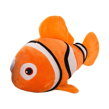 "1pcs 9"" 23cm small plush toy Nemo clownfish Nemo plush toy golden fish hot selling super gifts for kids free shipping"