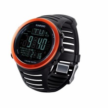 SUNROAD FR720  Digital  Outdoor Sport MenWatch Compass Fishing Weather Altimeter Barometer Thermometer Altitude Women Wristwatch