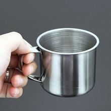 New Home Camping Travel Use Stainless Steel  Durable Mug Milk Coffee Cup