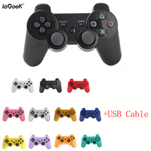 For Sony PS3 Wireless Bluetooth Game Controller 11 Colors For SIX AXIS Playstation 3 Control Joystick Gamepad Wireless Handle(China)