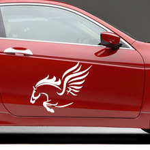 UNIVERSAL CUSTOMIZED Car Whole Body Car-Styling Mural Vinyl Hood Rear Window Garland Reflective Mustang Car Stickers