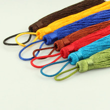 2pcs Mix Color 150mm Suede Leather Tassel Long Tassels Pendants For Keychain Cellphone&Bags DIY Jewelry Accessories Making
