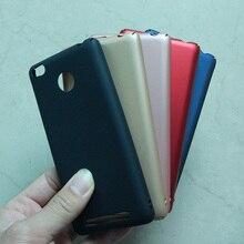 Case For Xiaomi Redmi 3S 5.0 inch 5 Color Hard Plastic Colorful Phone Cases Cover for Xiaomi Redmi 3 Pro