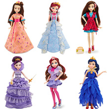 Original Descendants of the girl Figure doll multi joint movable doll Prince Mulan High Quality Girls Plastic Classic Toys Gifts(China)