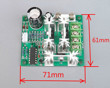 DC motor speed controller 6V 12V 24V 36V 48V 72V 90V PWM high power stepless speed regulating plate high current to 15A