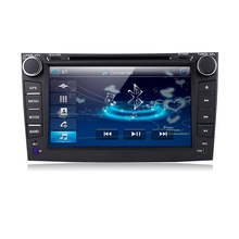 "8"" 2 din MTK3360 Car DVD Automotivo DVD Player For Toyota Corolla 2007-2011 with Bluetooth Radio Stereo GPS Navigation 8g maps(China)"