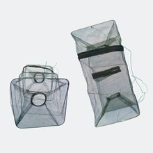Fishing Collapsible Trap Cast Keep Net Cage Crab fish Shrimp Lobster Crawfish Fishing Net