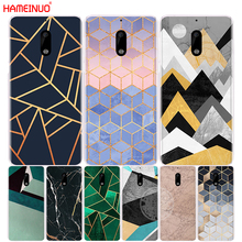 HAMEINUO Marble Line Luxury cover phone case for Nokia 9 8 7 6 5 3 Lumia 630 640 640XL(China)