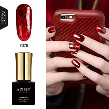 Azure Beauty 7ML New 24 Colors Nail Gel Polish Long-lasting UV Gel Polish Soak Off UV Nail Art Decoration for Nail Manicure(China)