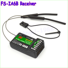1pcs Original 2.4G 6CH Flysky FS-iA6B Receiver PPM Output with iBus Port Compatible Flysky i4 i6 i10 Transmitter Drop freeship(China)